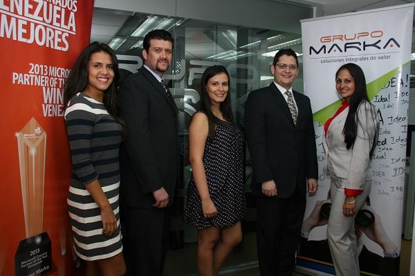 Zaireth Colina, Pedro Marcano, Andreina Pirela, Harry Betancourt, Mariluz Diaz