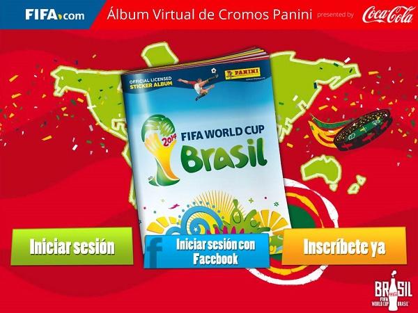 Inicio app Panini
