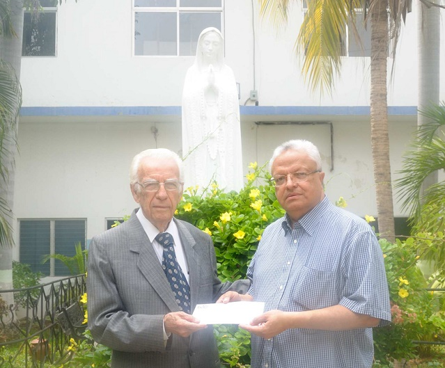 Dr. Fernando Chumaceiro y hermano César Osorio Paz