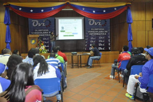 Cnti presente en la v olimpiada venezolana de inform tica for Oficina virtual cantv