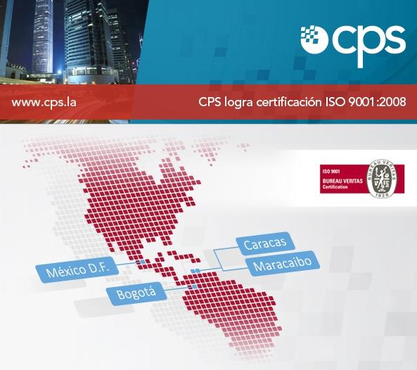 CPS Certificacion ISO 9001:2008