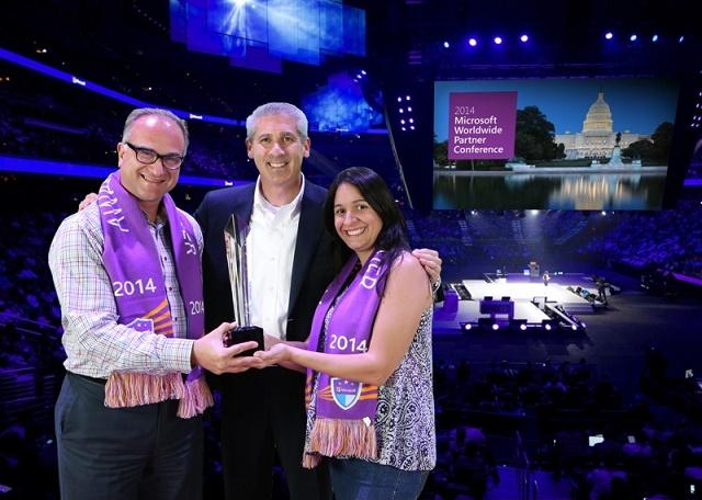 Arie Eskenazi, Phil Sorgen y Patricia Jardim