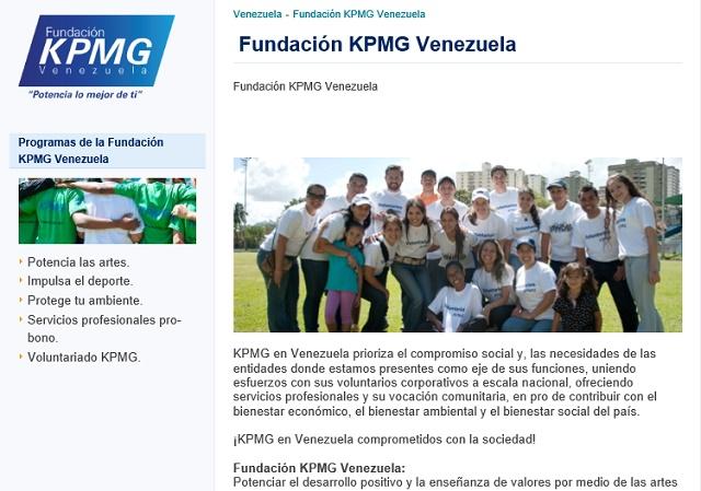 Fundacion KPMG Venezuela