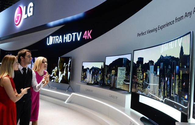 LG 4K OLED TV Line up