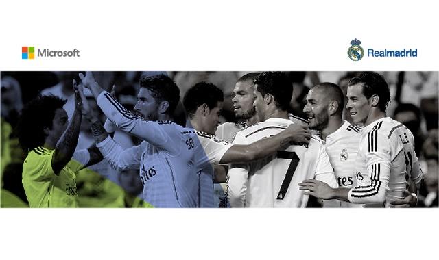 Real Madrid - Microsoft