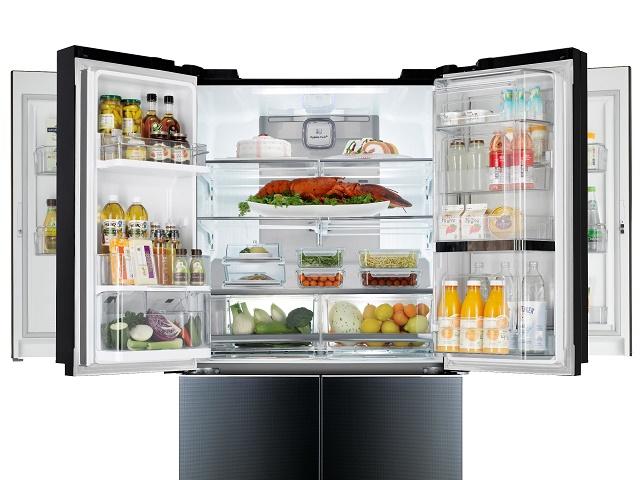 Lg electronics revela el primer refrigerador mega - Nevera doble puerta ...