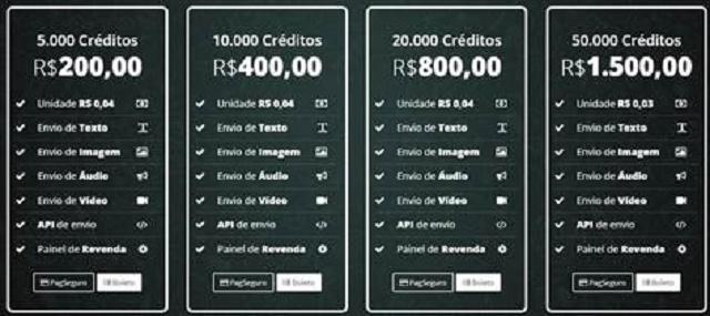 Creditos para WhatsApp