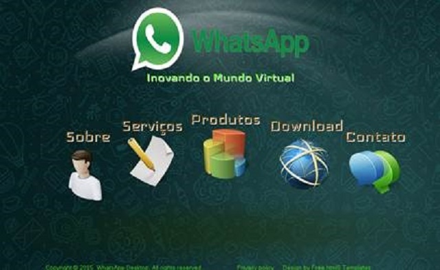 WhatsApp para PCs en Portugues