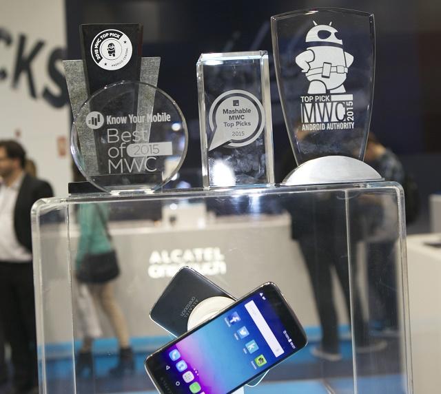 IDOL 3 y los premios recibidos en el MWC 2015