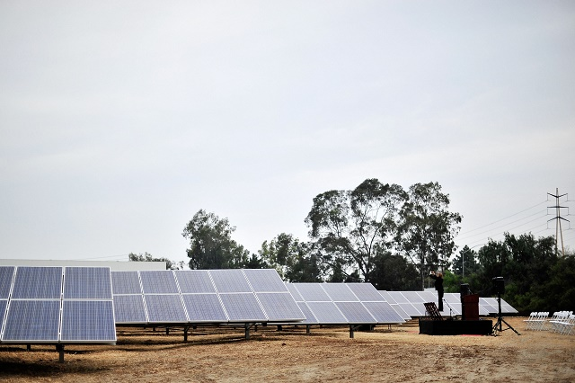 DIRECTV CBC Solar Groundbreaking Event With Solar City