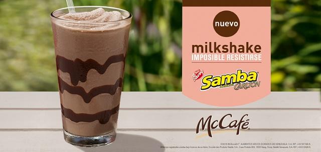 Milkshake Samba Avellana