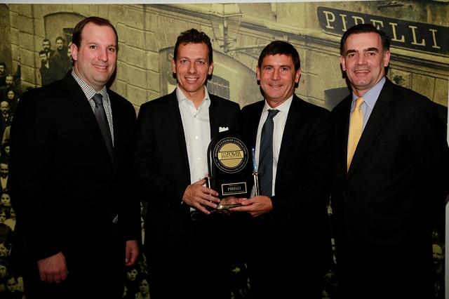 Pirelli receives J.D. Power Award 2015