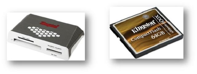 Tarjeta 600X CompactFlash de 64GB Kingston