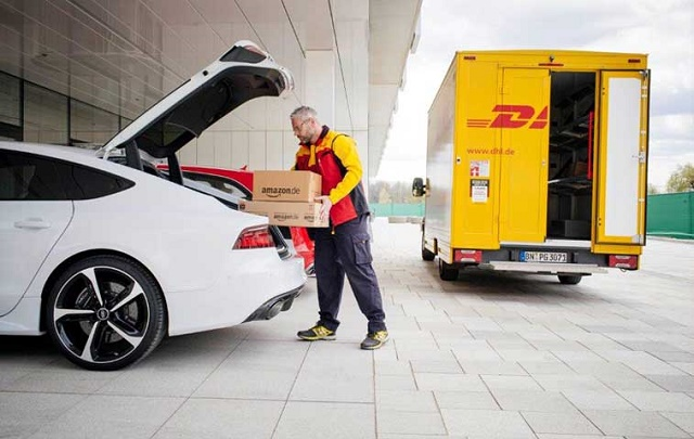 DHL delivery carros