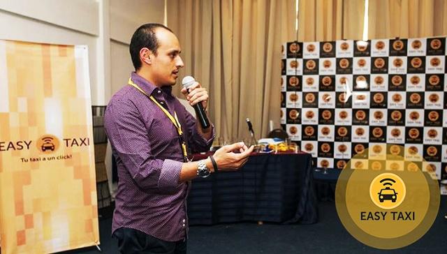 Marcos Subía, Country Manager de Easy Taxi