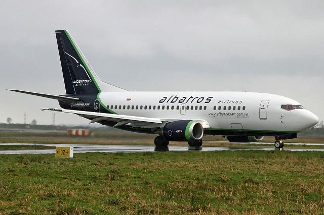Boeing 737-500 de Albatros(2)