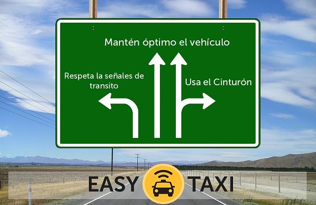 Easy Taxi brinda recomendaciones para la seguridad vial