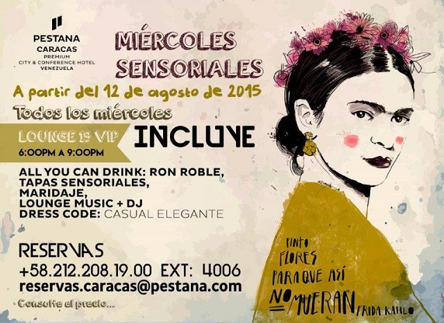 Miércoles sensoriales en Pestana Caracas