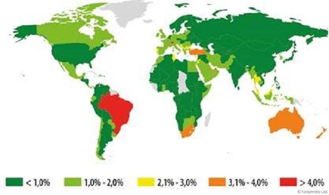 territorios infectados