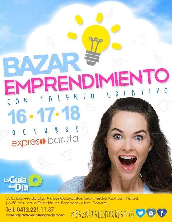 Afiche Bazar EMPRENDIMIENTO TC