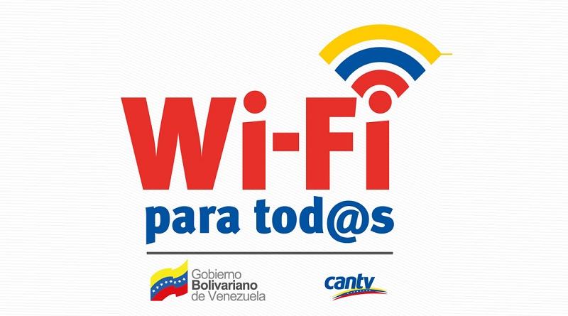 Cantv activó Wi-Fi para Tod@s en bulevar Amador Bendayán