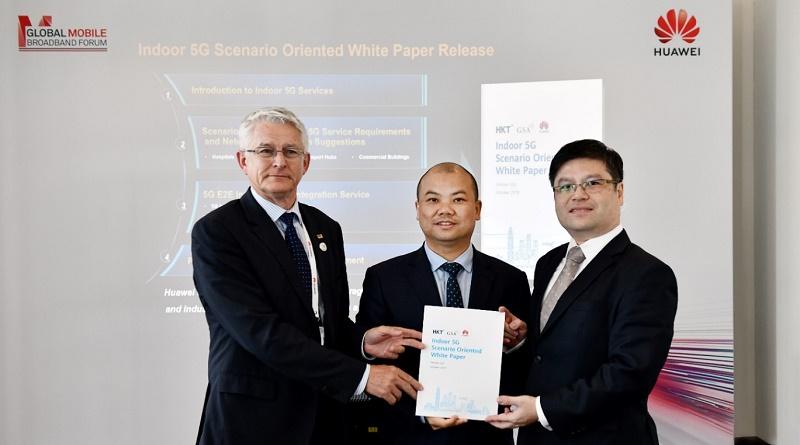 Huawei, HKT y GSA lanzan conjuntamente el Libro Blanco orientado a escenarios para interiores 5G