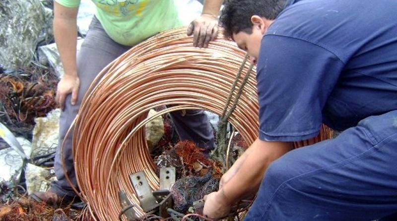 Cantv recuperó más de 54 toneladas de material estratégico