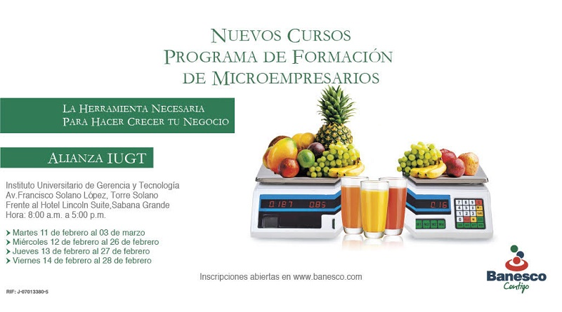 Programa Formación de Microempresarios