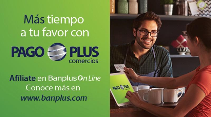 Pago Plus Comercios. Banplus 1