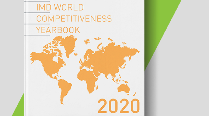 Portada del IMD World Competitiveness Yearbook