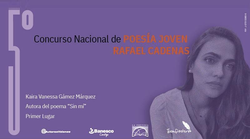 Kaira Vanessa Gámez - Ganadora 5° Concurso Cadenas