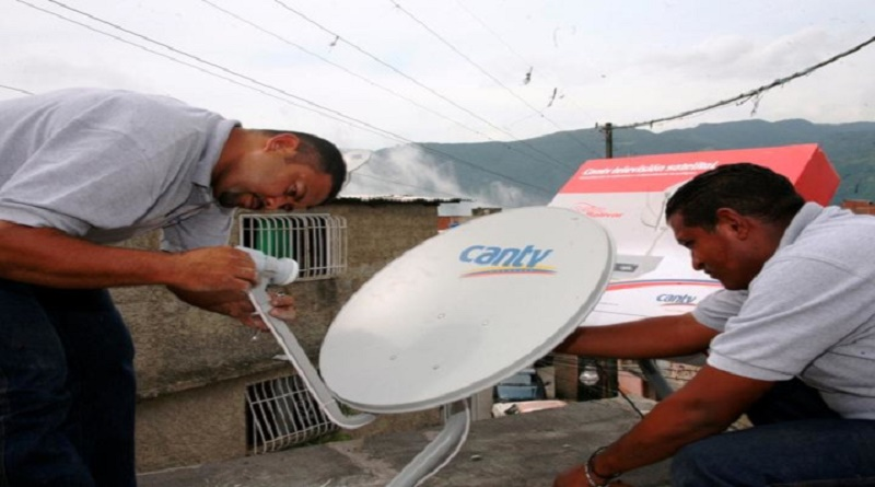 cantv television satelital