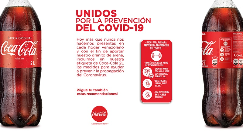 Coca-Cola Etiqueta Covid19