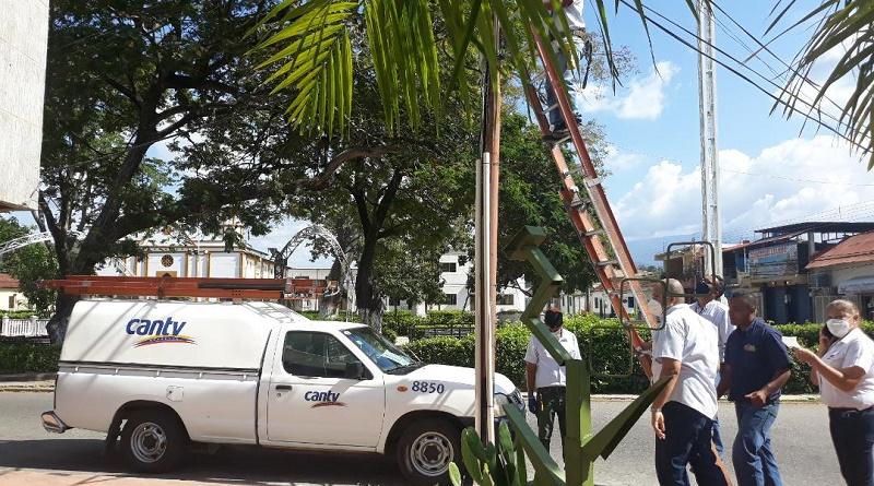 Cantv activó en Apure el servicio Wi-Fi para habitantes y turistas de La Macanilla (2)