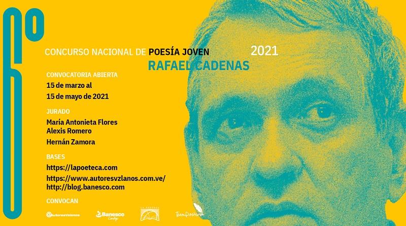 6° Concurso Poesía Rafael Cadenas