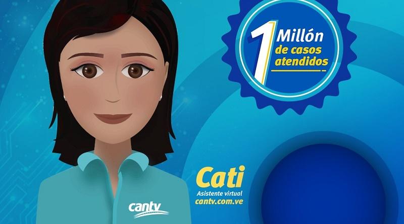 Cantv supera el millón de casos atendidos con Cati