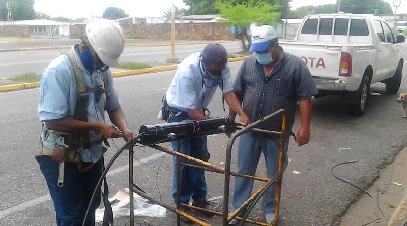 Cantv ejecutó reparaciones en redes para garantizar servicios en Cojedes (1)