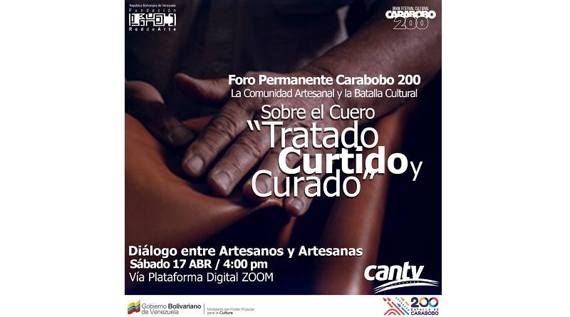 Cantv y Fundación Red de Arte invitan a foro web sobre técnicas artesanales en cuero (3)