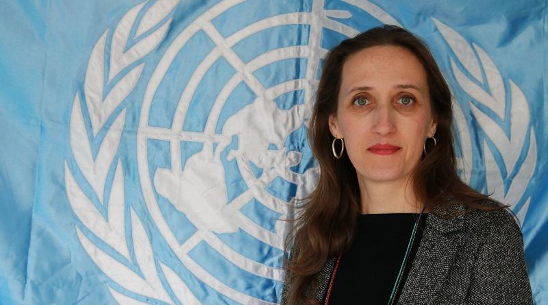 Dulclair Sternadt, Oficial de Alianzas de la FAO.