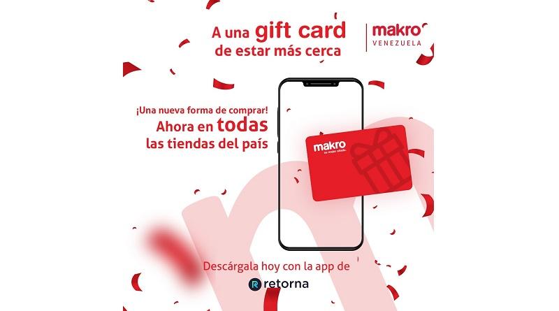 Makro Gift card a escala nacional