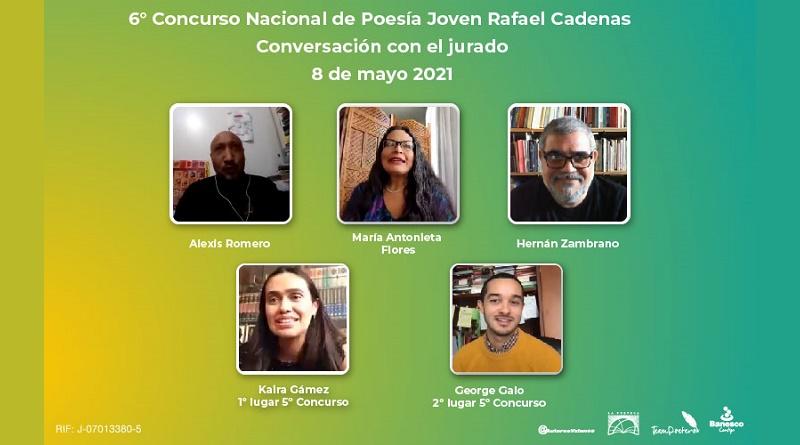 6° Concurso Poesía Rafael Cadenas. Conversatorio Jurado