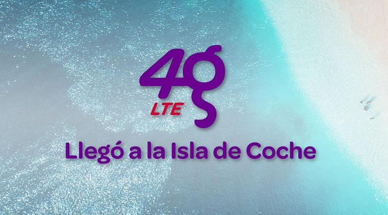4G LTE de Digitel en la isla de Coche