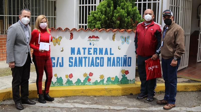 Digitel ofrece conectividad 4G LTE a escuela en la Gran Caracas