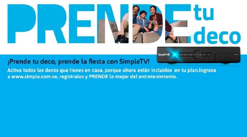 SimpleTV Prende tu deco