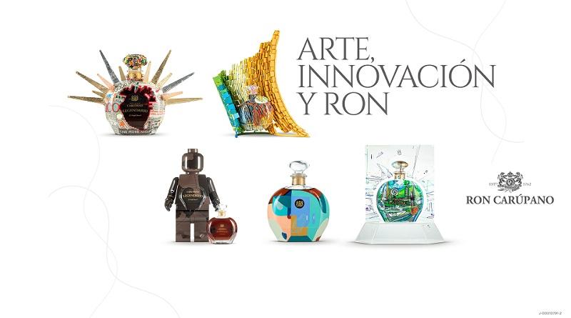Arte Innovacion y Ron Carupano