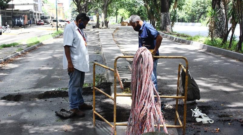 Cantv reparó cable de alta capacidad para conectar a 2.100 suscriptores de San Agustín