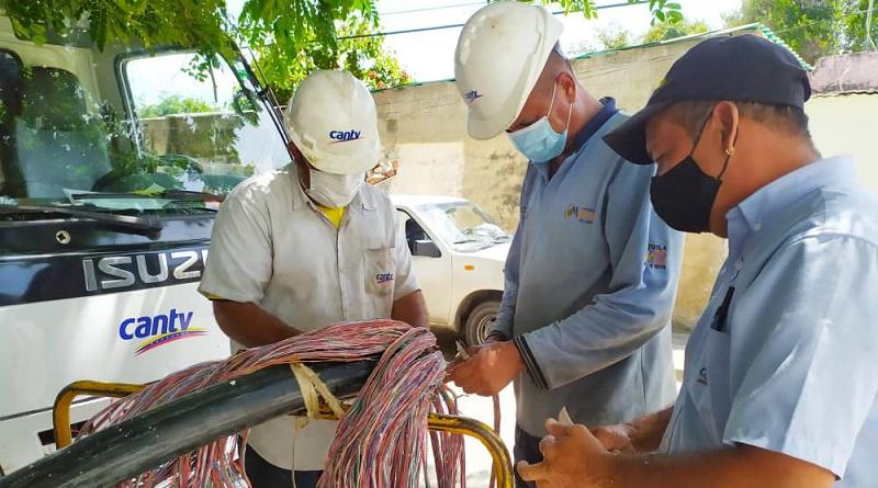 Cantv restableció conexión a 6.300 suscriptores de Guacara